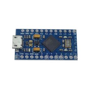 Arduino Micro Leonardo – ATMEGA328 MCU 8 ANALOGUE I/P, 6PWM OUTPUT