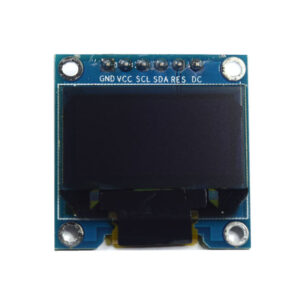0.96″ OLED Display Module – SPI/I2C – 128X64 – 6 Pin (Blue)