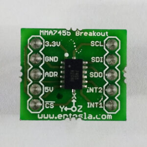 MMA7455 Digital Tilt Sensor Accelerometer