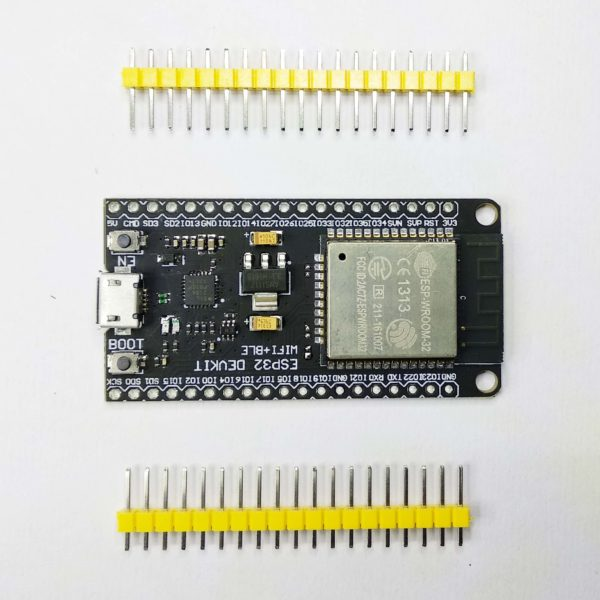ESP 32 WiFi + Bluetooth